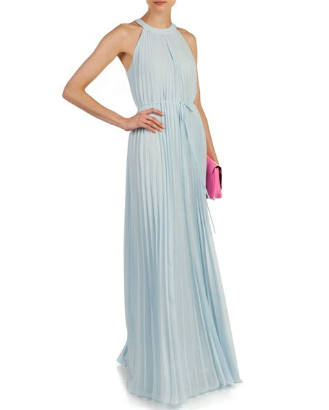 Ted Baker Pleated Neck Tie Dress
