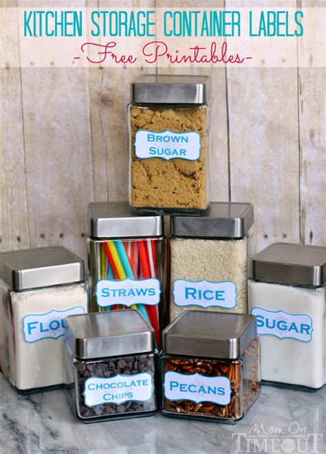 Garage Storage Labels 30 Clever Ideas To Organize Your Kitchen In The Garage 174