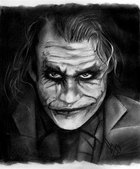 the dark knight joker by bobby sandhu on deviantart