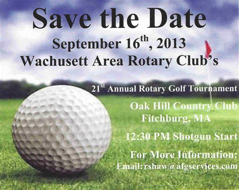Golf Tournament Save The Date Template Golf Tournament Quotes Quotesgram
