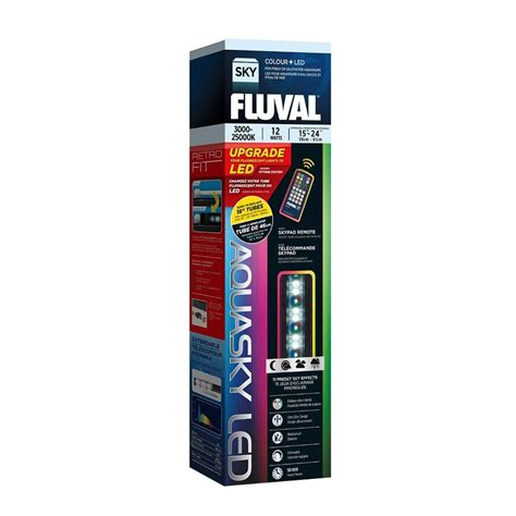 Led Aquasky fluval aquasky led aquarium lighting fluval from pond planet ltd uk
