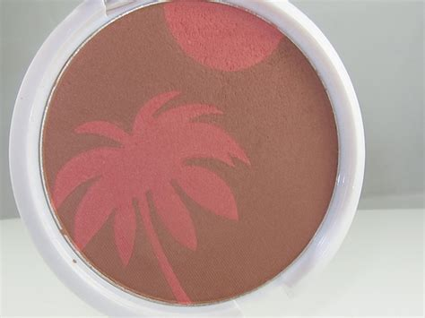 Everythings Bronzer In by N Color Icon Bronzer Blush Review Swatches