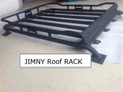 4x4 Roof Rack Baskets by Aluminium Roof Mounted Platform Cargo Luggage Carrier Basket Carrier For Suzuki Jimny Road