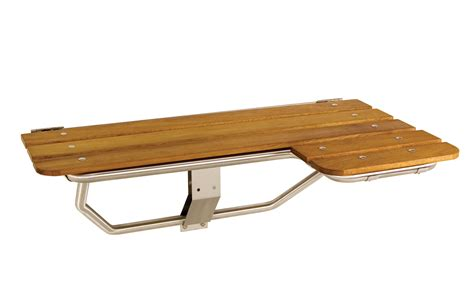 folding teak bench bathroom design interesting teak shower bench with