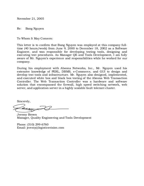 Confirmation Letter Home Affairs Abeona Networks Inc Employment Verification Letter