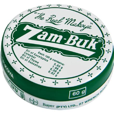 Zam Buk zam buk the real makoya herbal ointment 60g clicks