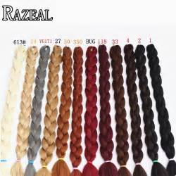 expression hair colors synthteic braiding hair expression braids ultra
