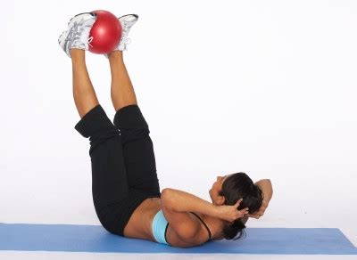 how to do an elevated leg crunch howstuffworks