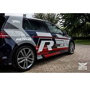 VW Golf VII R Line Mit MTCHBX DESIGNS Folierung By