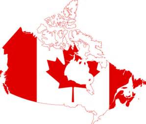 canada flag map clip at clker vector clip