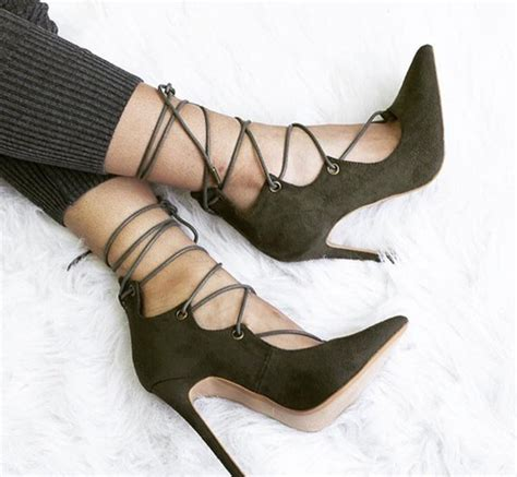 olive green high heels shoes green heels lace up heels shoes olive green