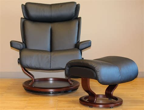 stressless magic recliner stressless magic paloma black leather by ekornes