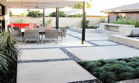 backyard concrete slab ideas concrete patio with sted border ideas concrete patio cost brick patio designs