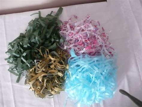 Make Your Own Logs From Shredded Paper - 20 best ideas about shredded tissue paper on