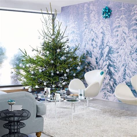 modern house christmas home decor and christmas tree create a mid century narnia magical modern christmas