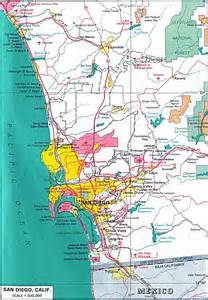 Map San Diego by Ca San Diego Camping San Diego Hostels Hiking Maps Biking