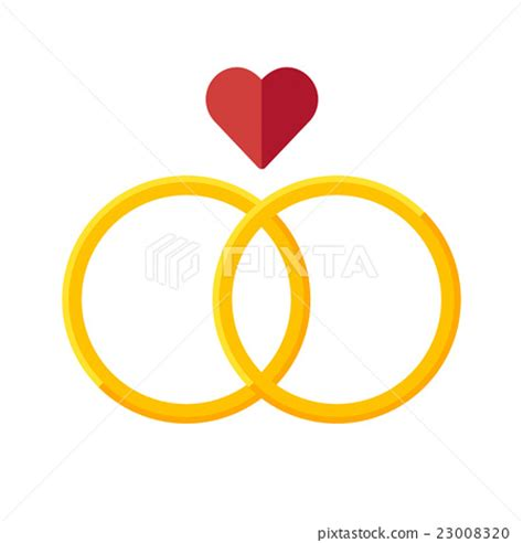 Wedding Ring Vector by Wedding Rings Vector Icon Stock Illustration 23008320