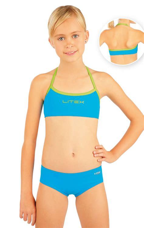 little swimsuit litex girls swimwear girl 180 s bikini top 88499 litex