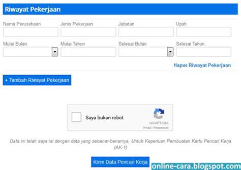 cara membuat kartu kuning surabaya cara membuat kartu kuning online online cara
