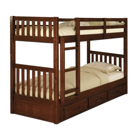 twin twin bunk bed merlot sam s club bunk beds