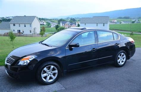nissan altima sunroof find used 2007 nissan altima 2 5sl black leather sunroof