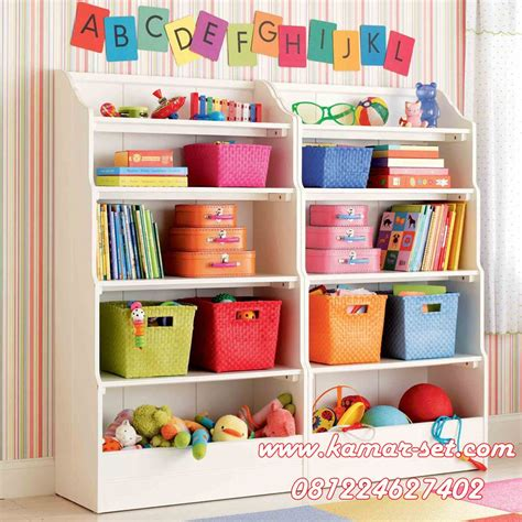 Jual Rak Display Mainan rak mainan buku anak kamar set kamar set