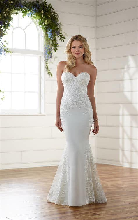 Wedding Dress Australia by Embroidered Lace Wedding Dress Essense Of Australia
