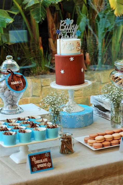 Winter Themed Baby Shower Ideas by Winter Themed Baby Shower Ideas