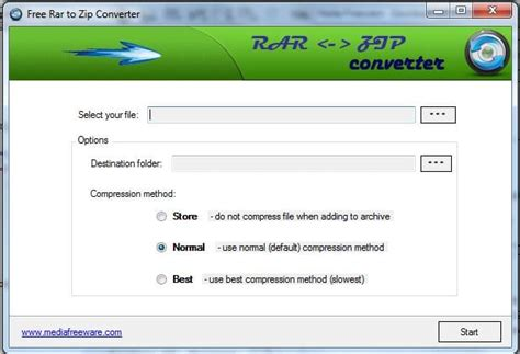 converter format rar free rar to zip converter download