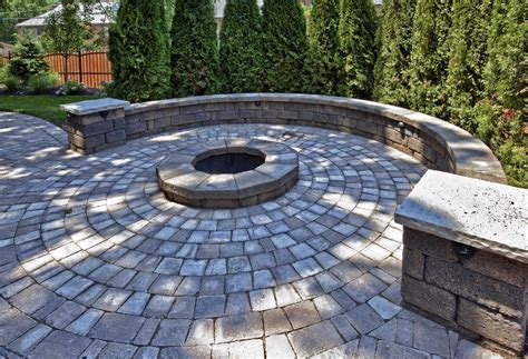 Slipcovered Chaise Lounge Patio Fire Pit Patio Traditional With Stone Cap Landscape