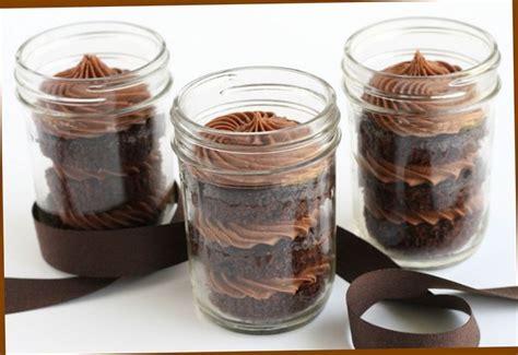 molten chocolate cake in mason jar recipe