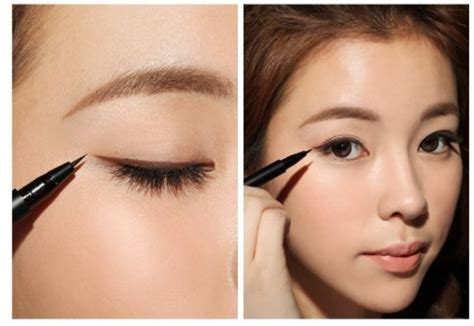 Blending Liner Makes Look by How To Easily Draw Eyeliner For Asian 2018