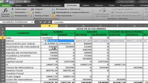 tutorial excel contabilidad contabilidad con excel youtube