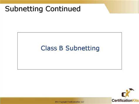 subnetting tutorial ccna cisco ccna advanced tcpip and subnetting part i
