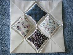 Cathedral Window Patchwork Pincushion - 1000 images about cathedral windows on