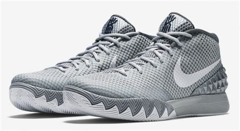Kyrie 2 Cool Grey 1 nike kyrie 1 wolf grey weartesters