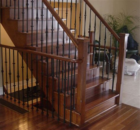 indoor banisters and railings indoor railing redondo railing toronto interior