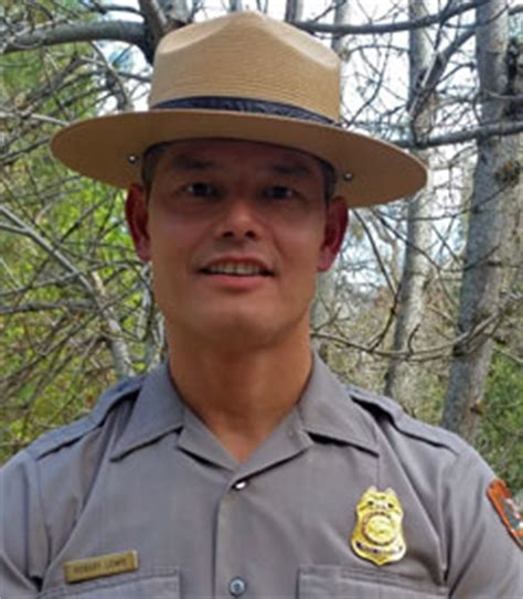yosemite national park ranger robert rob lewis receives