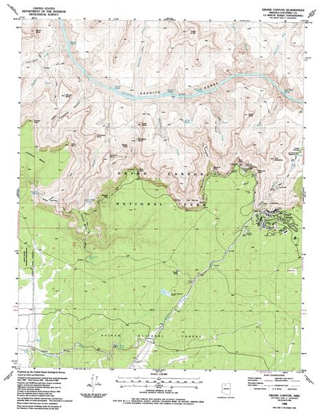 grand map arizona grand topographic map az usgs topo 36112a2