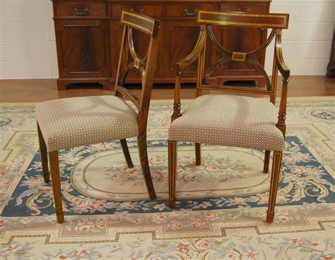 vintage dining room furniture mahogany dining chairs cross back dining room chair ebay