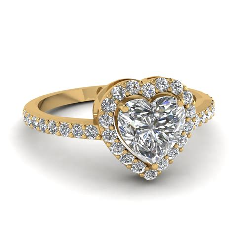 beautiful engagement rings yellow gold www pixshark