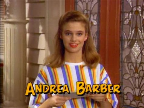 full house radio days andrea barber the talented actress