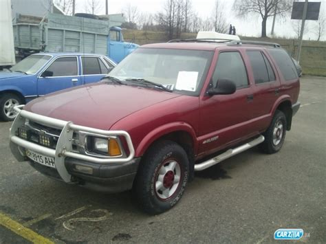 Opel Blazer 1996 chevrolet blazer 1996 reviews prices ratings with