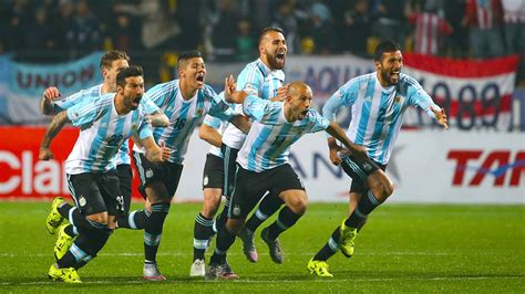 Argentina Fc Argentina Beat Colombia On Penalties Copa America Espn Fc