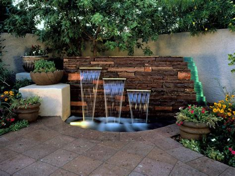 Backyard Water Features Ideas 15 Unique Garden Water Features Landscaping Ideas And Hardscape Design Hgtv