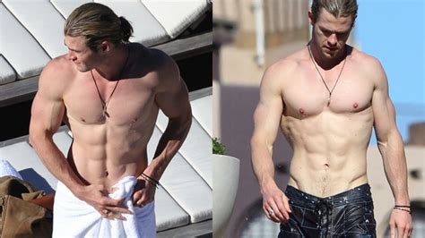 chris hemsworth bench press ranking the 10 fittest celebrities in hollywood