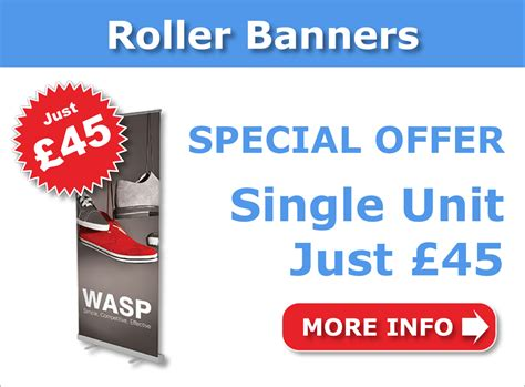cheap banner printing from r350 vinyl roller banners poster printing uk buy business posters poster pigeon uk