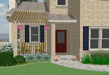 Front Patio Design Patio Ideas To Expand Your Front Porch
