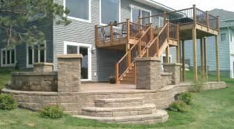 House Plans Walkout Basement red oak decorative concrete minneapolis stamped concrete