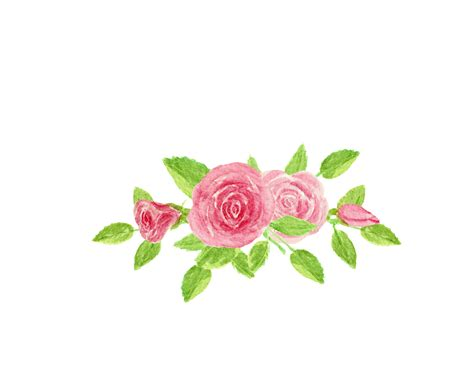 Rose Paint Colors by Spring Watercolor Flowers And Other Smells
